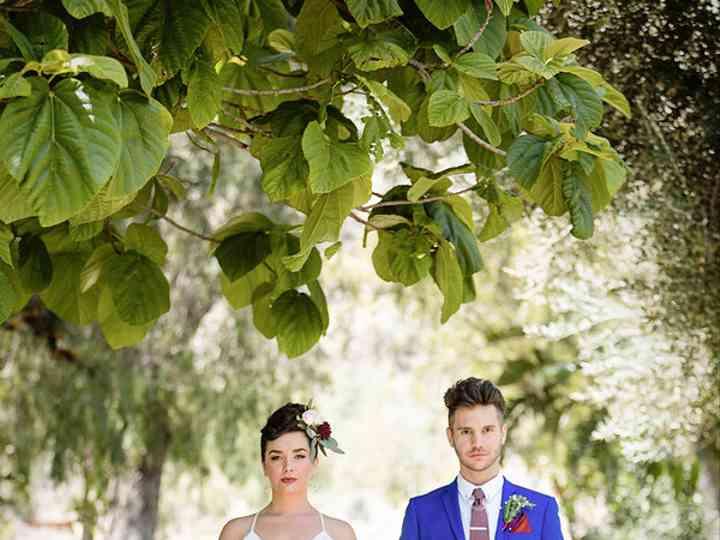 The wedding of Jeff and Lindsay