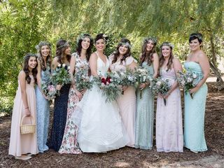 Lindsay and Jeff's Wedding in Piru, California 3