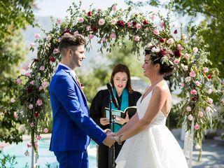 Lindsay and Jeff's Wedding in Piru, California 12