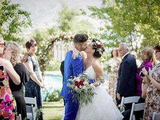 Lindsay and Jeff's Wedding in Piru, California 13