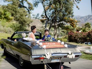 Lindsay and Jeff's Wedding in Piru, California 14