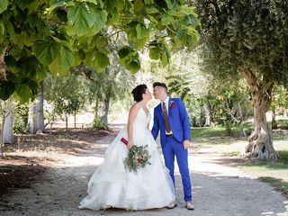 Lindsay and Jeff's Wedding in Piru, California 16