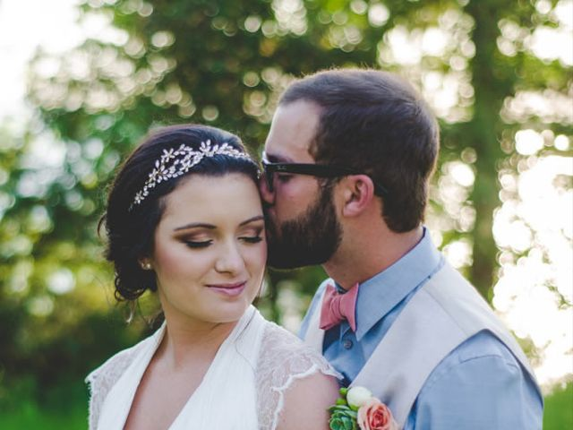 The wedding of Zachary and Colleen