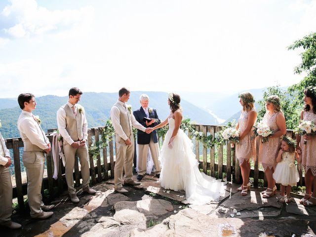 Chelsea and Andrew's wedding in West Virginia 5