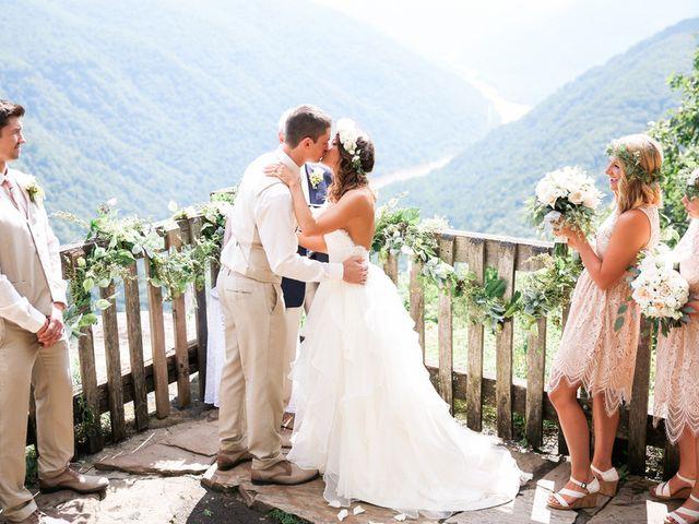 Chelsea and Andrew's wedding in West Virginia 6