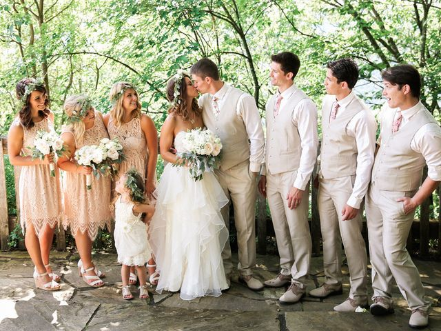 Chelsea and Andrew's wedding in West Virginia 7