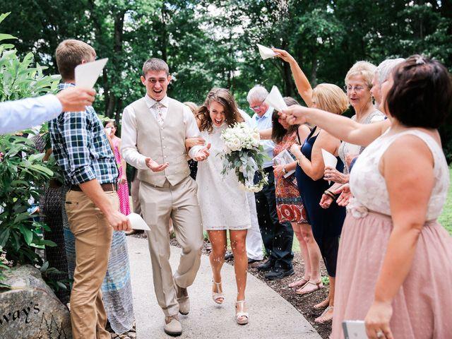 Chelsea and Andrew's wedding in West Virginia 22