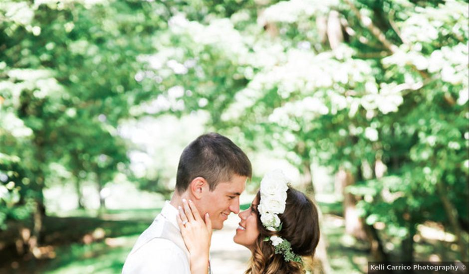 Chelsea and Andrew's wedding in West Virginia