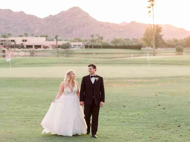 The wedding of Morgan and Luke