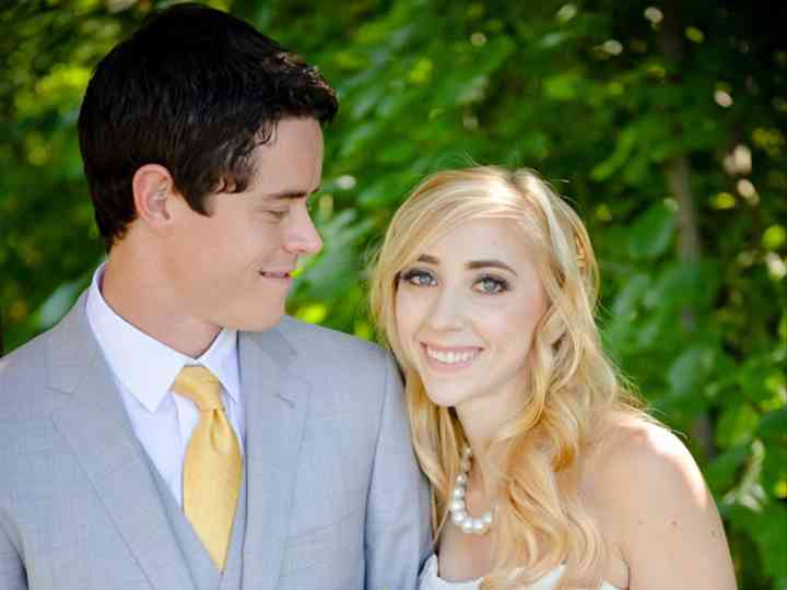 The wedding of Jordan and Lindsey