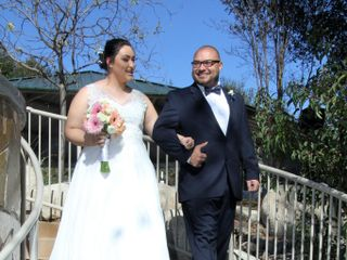 The wedding of Tori and Troy 1
