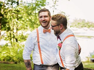 The wedding of Kevin and Jake