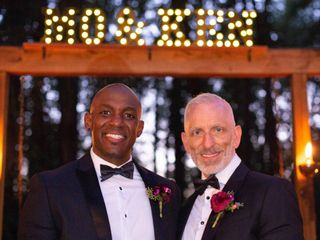 The wedding of Ken and Maurice