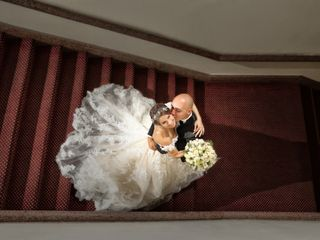 The wedding of Myriam and Christian
