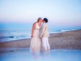 The wedding of Rachel and Sarah