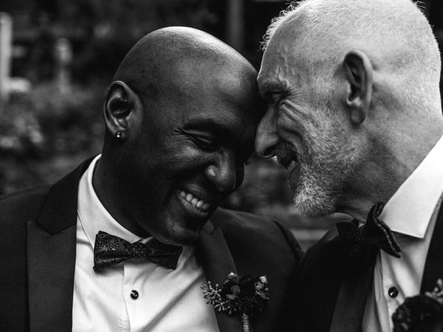 Maurice and Ken's Wedding in Winston Salem, North Carolina 1