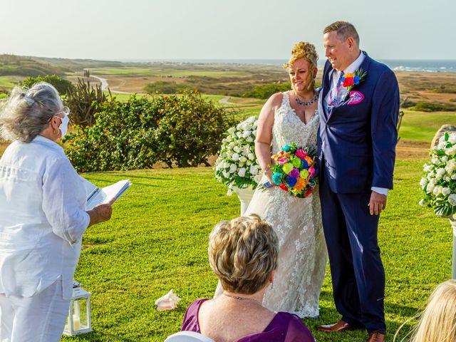 Dave and Erin's Wedding in Oranjestad, Aruba 10