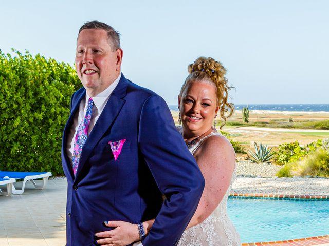 Dave and Erin's Wedding in Oranjestad, Aruba 15