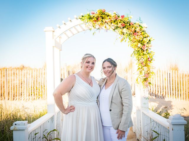 Sarah and Rachel's Wedding in Bethany Beach, Delaware 3