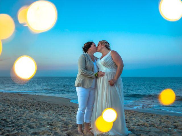 Sarah and Rachel's Wedding in Bethany Beach, Delaware 6