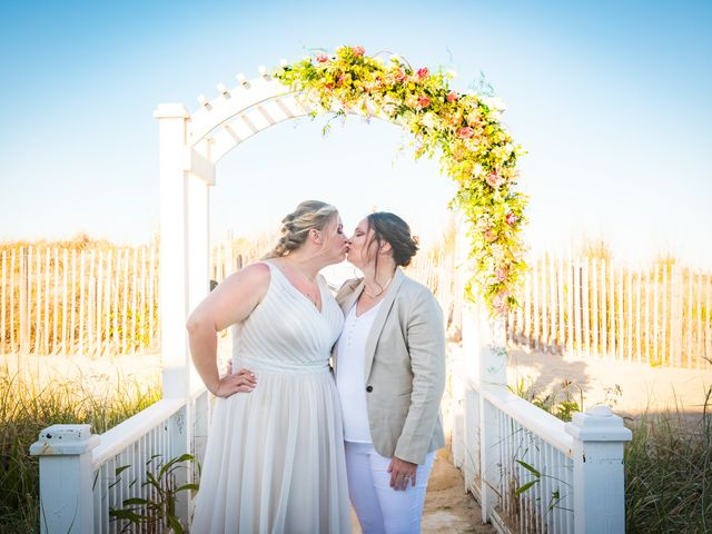 Sarah and Rachel's Wedding in Bethany Beach, Delaware 7