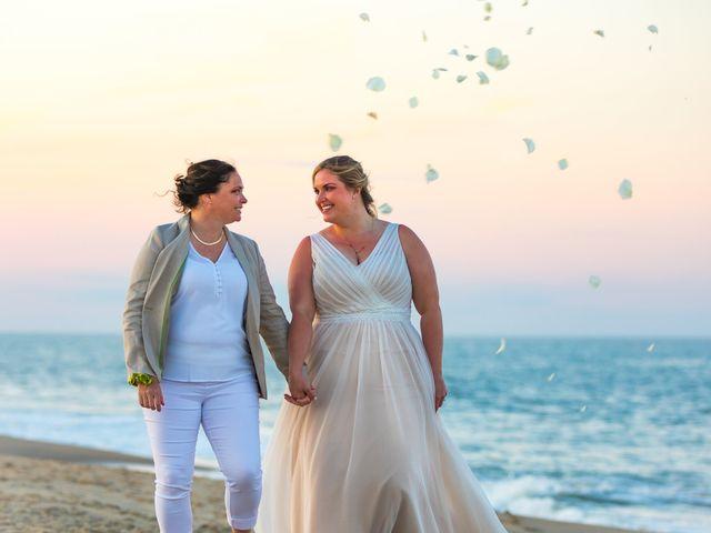 Sarah and Rachel's Wedding in Bethany Beach, Delaware 9