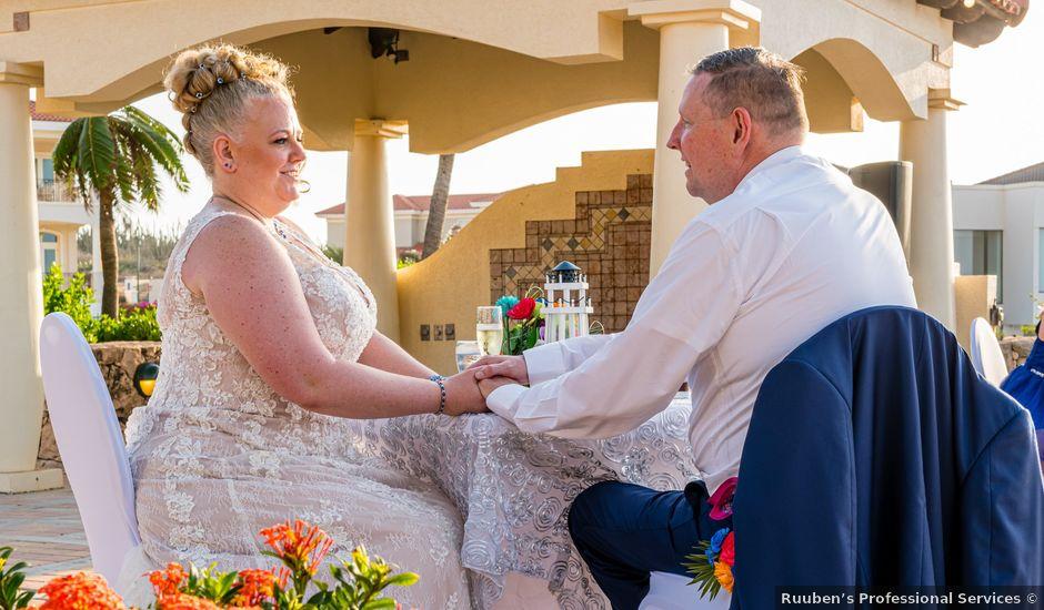 Dave and Erin's Wedding in Oranjestad, Aruba