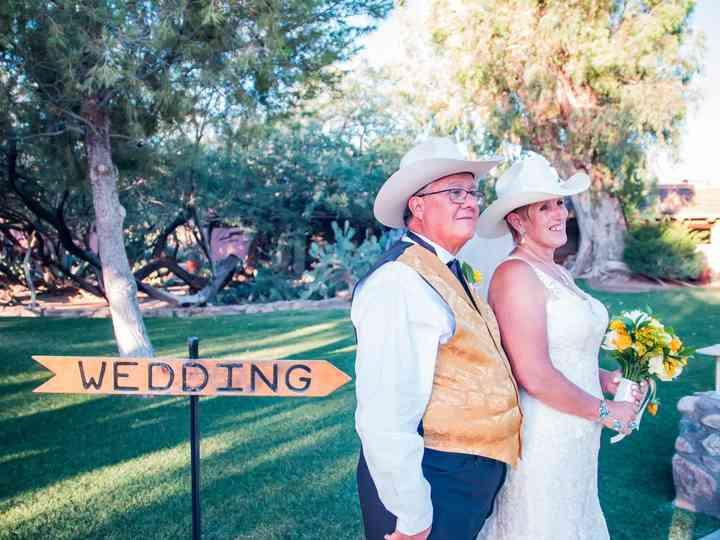 The wedding of Debi and Jon