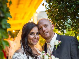 The wedding of Claudia and Matthew 1