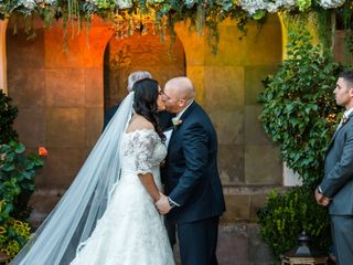 The wedding of Claudia and Matthew