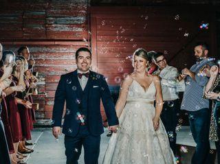 The wedding of Amanda and Bryan 1