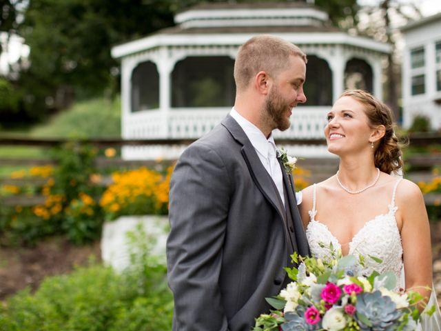 The wedding of Ericia and Doug