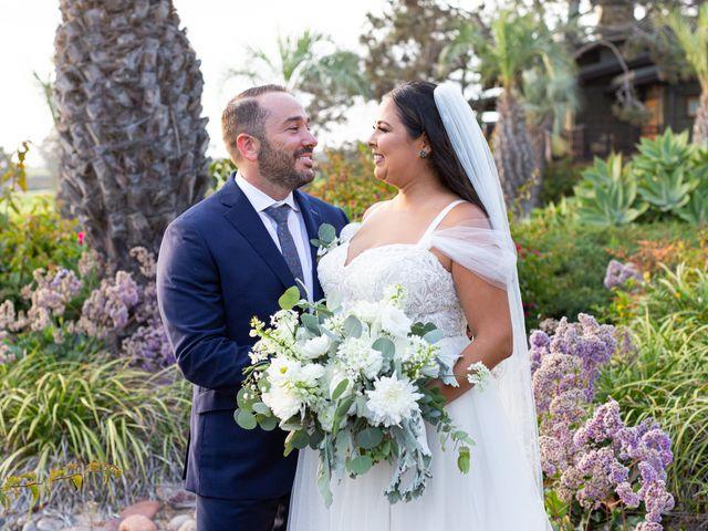 The wedding of Alexandria and Matthew