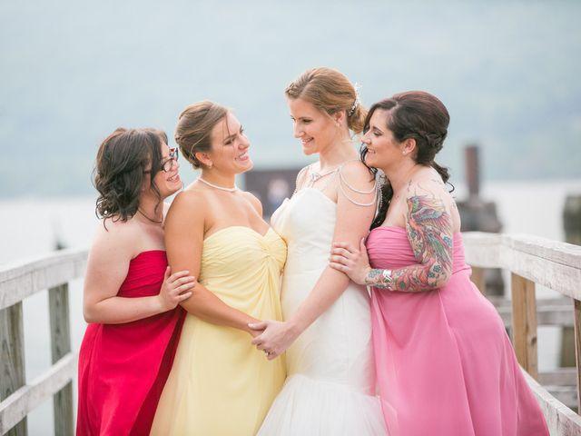 Samantha and Lewis's Wedding in Cortlandt Manor, New York 4
