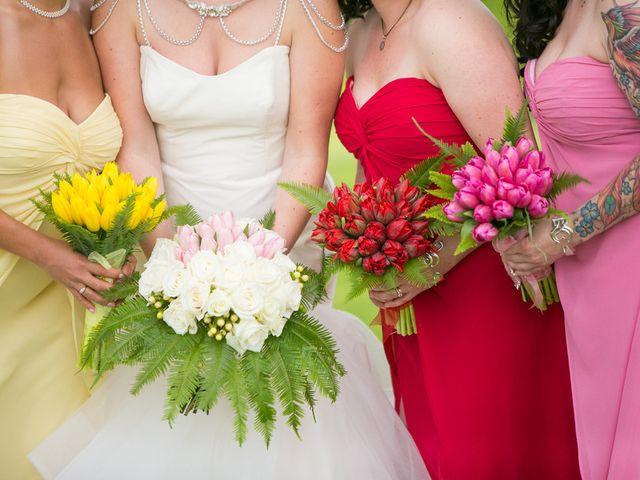 Samantha and Lewis's Wedding in Cortlandt Manor, New York 5