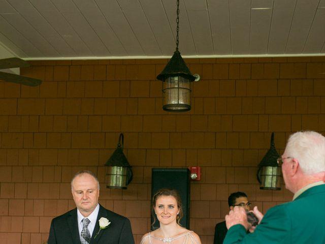 Samantha and Lewis's Wedding in Cortlandt Manor, New York 7