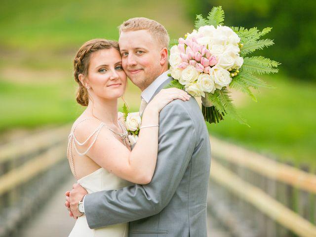 Samantha and Lewis's Wedding in Cortlandt Manor, New York 9