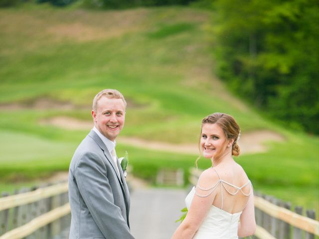Samantha and Lewis's Wedding in Cortlandt Manor, New York 12