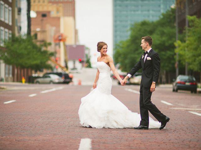 Nicole and Andy's Wedding in Omaha, Nebraska 10