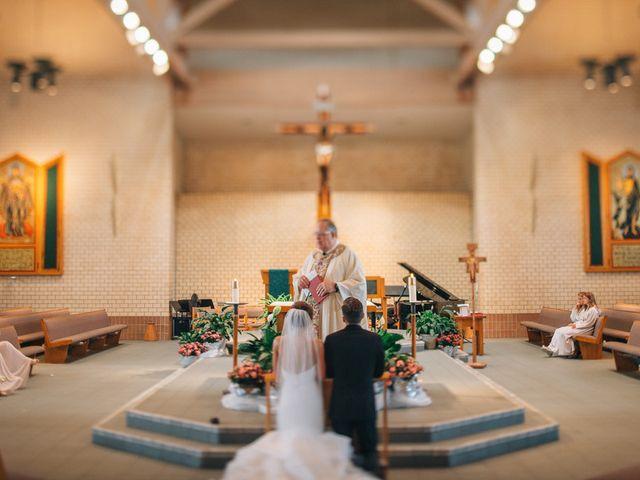 Nicole and Andy's Wedding in Omaha, Nebraska 7