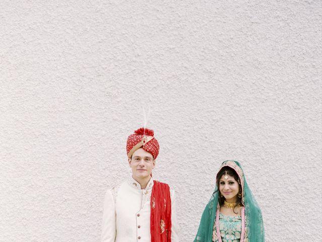 Syma and Stefan's Wedding in Alberta, Virginia 1