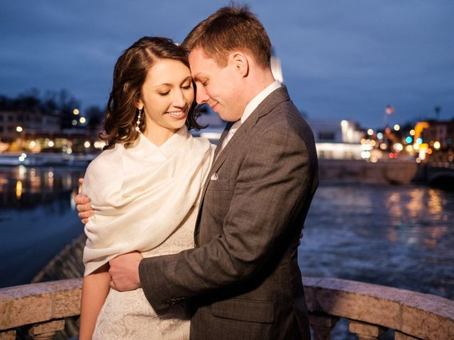 The wedding of Garrett and Linda