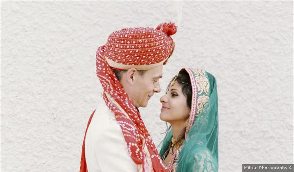 Syma and Stefan's Wedding in Alberta, Virginia