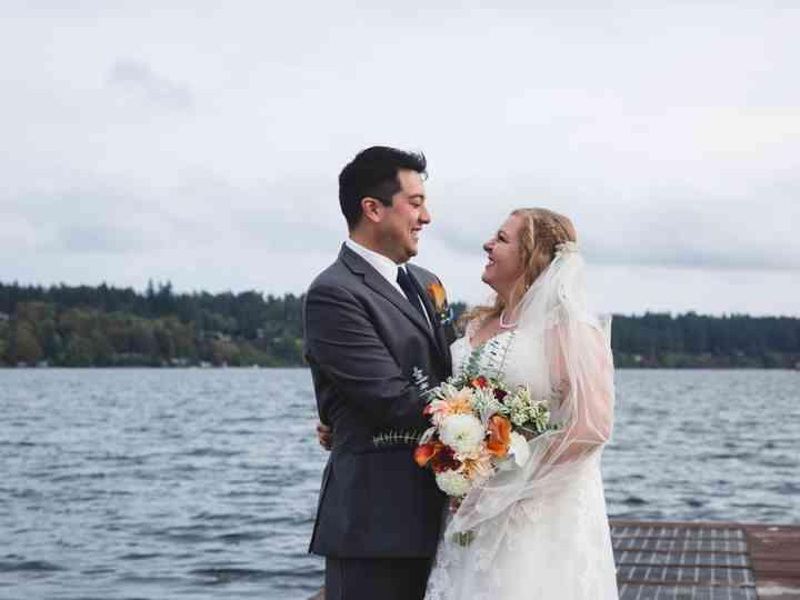 The wedding of Ken and Hayley