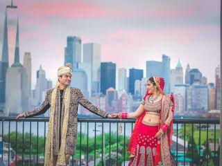 The wedding of Rashmi and Rishi