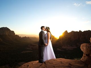 The wedding of Ingabritt and Eddie