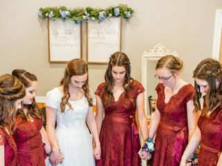 The wedding of Morgan and Justin 1