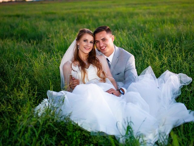 The wedding of Trace and Nicole