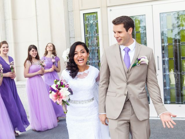 The wedding of Jared and Helain
