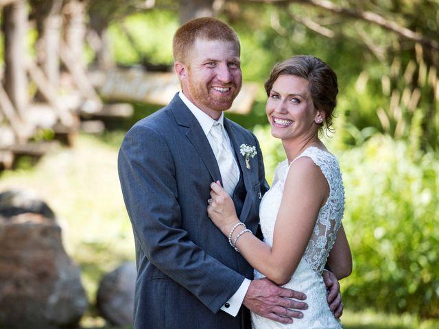 The wedding of Zach and Kayla
